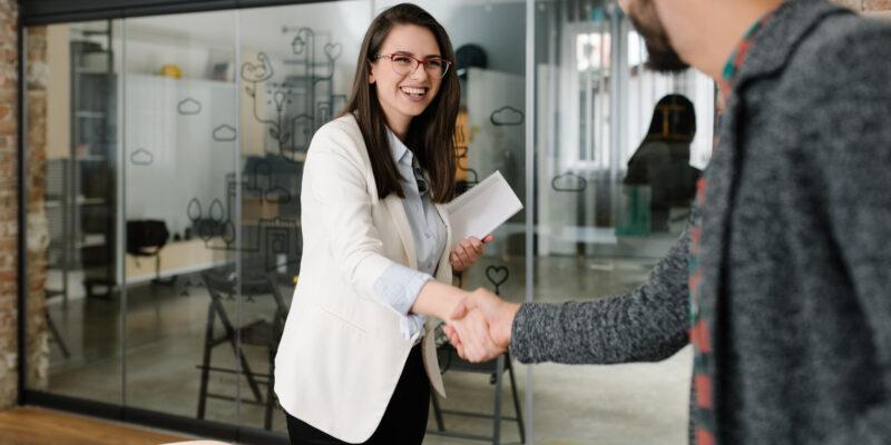 meeting hand shake