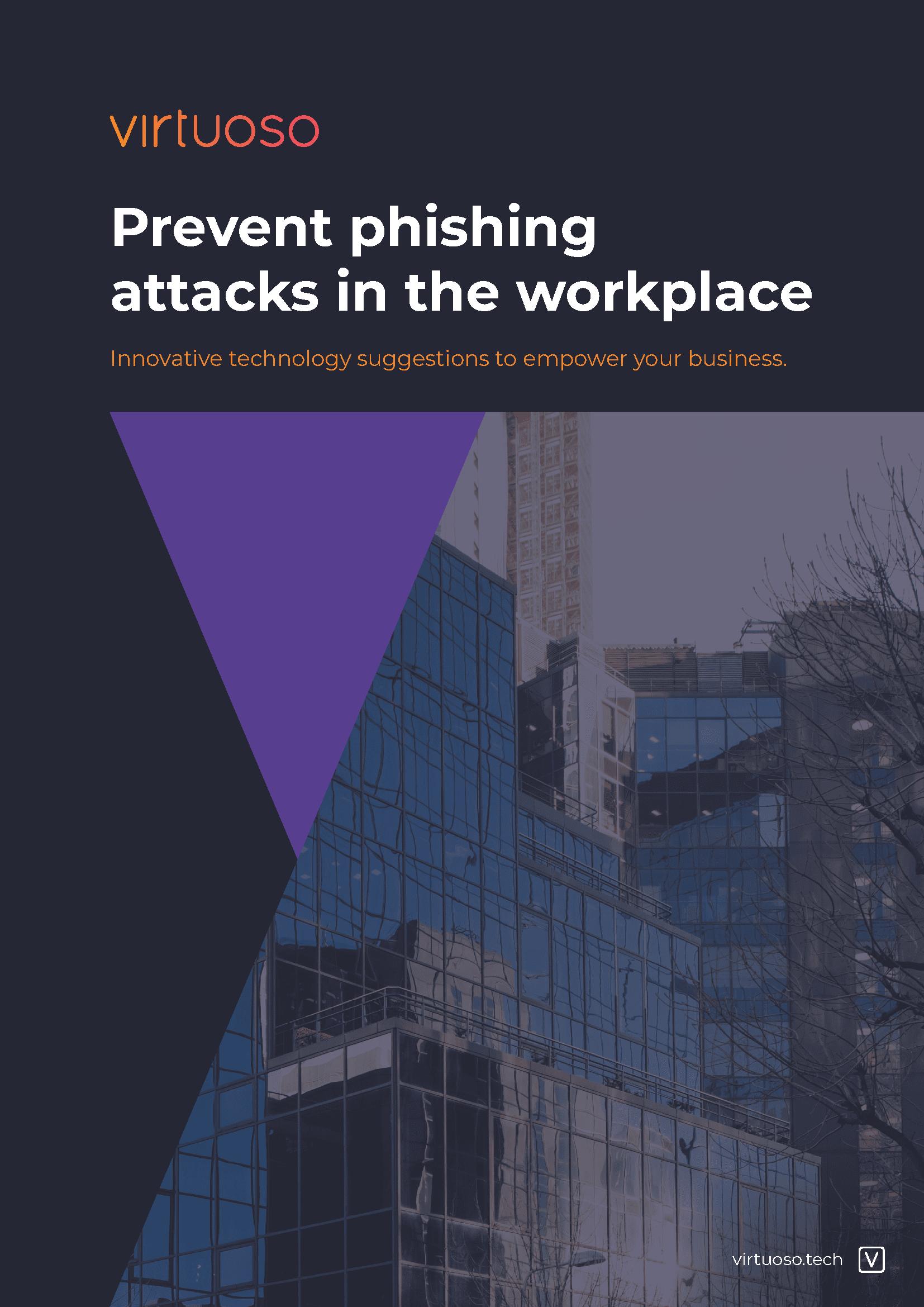 Prevent phishing attacks