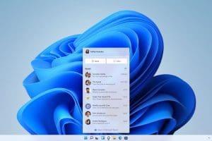 Windows 11 Teams Chatbox